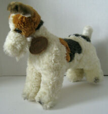 Vintage Classic Aurora Plush13� Wire Hair Fox Terrier Dog Standing Rare