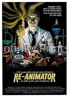 Re Animator Movie Film Poster A2 A3 A4