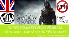 Middle-earth: Shadow of Mordor Steam key NO VPN Region Free UK Seller