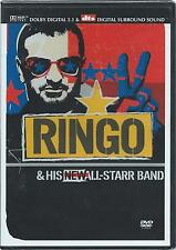 Ringo Starr And His All Starr-Band - Region 2 (DVD 2002) NEW/SEALED