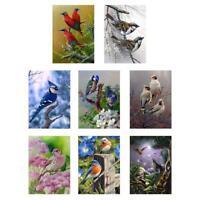 5D DIY Full Drill Diamond Painting Bird Cross Stitch Craft Kit Home Decor