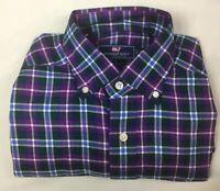 NEW VINEYARD VINES Men's Classic Fit Murray Shirt Long Sleeve Plaid Size XS NWOT