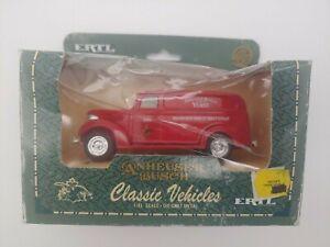 ERTL Classic Vehicles Anheuser Busch 1938 Chevy Panel Truck 1:43 Die Cast New