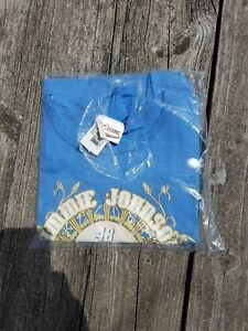 Womens Jimmie Johnson #48 2006 Champ Nascar Blue T shirt Racing S10