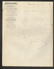 """CHATEAUROUX (36) BRIQUES TUILES CARRELAGES """"M. HIDIEN / COLLIGNON & THOREL"""" 1880"""