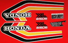 HONDA XL250S RESTORATION DECAL SET