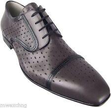 Authentic $750 Cesare Paciotti US 7 Leather Oxfords Italian Designer Shoes