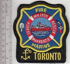 Fire Boat Ontario Toronto Fire Department Fireboat Wm Lyon MacKenzie Marine Unit