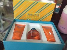 Ralph Lauren Rocks Set NEW 3.4oz EDT 100ml Shower Gel 2.5oz Moisturizer 75ml