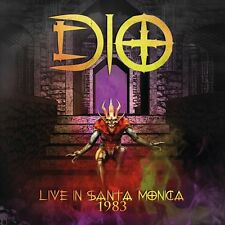Ronnie James DIO LIVE IN SANTA MONICA 1983  cd rainbow black sabbath
