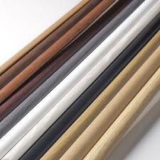 2.5m Viertelstab PVC 13x13mm Winkelprofil Kunststoff Maskierung Abdeckleiste NEU