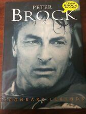 PETER BROCK HAND SIGNED AUTOGRAPHED Ironbark Oastler Book& Ticket to Primus 1000
