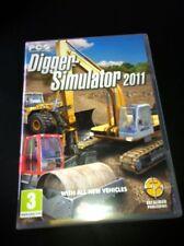 Digger Simulator 2011 Game PC VGC