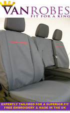 Mercedes Sprinter (2006 on). Tailored Seat Covers & Tailored  Rubber Floor Mat
