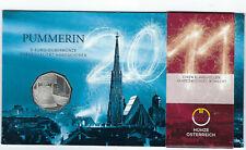 Österreich: 5 Euro Silber Gedenkmünze 2011, Pummerin, handgehoben