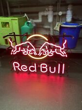 More details for red bull neon sign rare collectable man cave pub stuff
