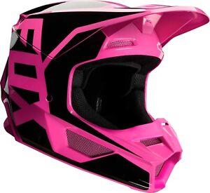 2020 Fox Racing V1 Prix Helmet - Motocross Dirtbike Offroad Adult