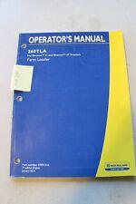 New Holland 260tla Loader Operators Manual 2014