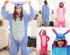 Pigiama kigurumi stitch costume carnevale adulti cosplay animali tuta party