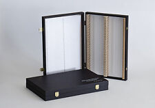 Präparatekasten für mikroskopische Präparate 100 Stk, f. Objektträger 76 x 26 mm