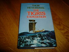 THOR HEYERDAHL-THE TIGRIS EXPEDITION-SIGNED-1ST-1980-HB-NF/F-ALLEN & UNWIN-RARE