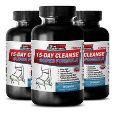 Kill Candida Capsules - 15-Day Cleanse Super Formula 1180Mg 3B - Senna Powder