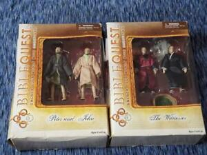 Set of Bible Quest Figures Peter and John / The Witnesses Brand New