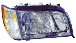 Headlight Combination Assembly Left Maxzone 340-1112L-ASC