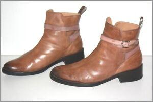 MELVIN & HAMILTON Boots Tout cuir Femme Modèle ELAINE T 40 TBE