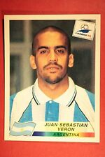 PANINI WC WM FRANCE 98 1998 N. 507 ARGENTINA VERON WITH BLACK BACK MINT!!