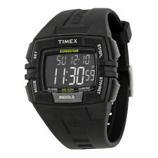 Timex Expedition Chronograph Digital Dial Black Resin Mens Watch T49900CB