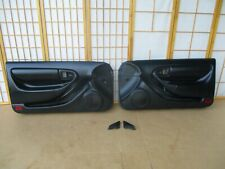 94-99 Toyota Celica Driver Passenger Left Right ALL BLACK POWER Door Panel SET