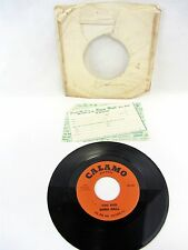 DORA HALL Too Bad & Let Me Tell You Baby - PR-1301 w/ FAN CLUB FORM   45 Record