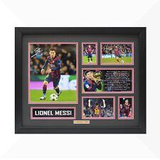 Lionel Messi Signed & Framed Memorabilia - Black/Red - Limited Edition