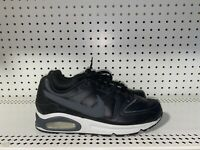 Nike Air Max Command Mens Leather Athletic Running Shoes Size 10 Black Gray