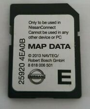 Genuine Nissan 2014 2015 2016 Satellite Navigation SAT NAV SD Card 25920 4EA0B
