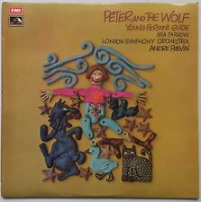 ANDRE PREVIN / MIA FARROW PROKOFIEV Peter & The Wolf Young Persons Guide EMI NM