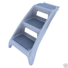 Booster Bath Steps Grey  BB-STEP Lightweight and Portable No Slip 19 X 6 X 34
