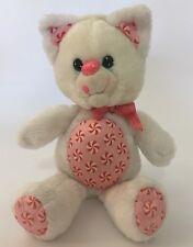 "Yum Yums Peppermint Kitty Cat 1989 Hallmark Kenner Plush Toy 12"""