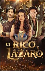 EL RICO Y LAZARO, SERIE BRASIL, 37 DISCOS,185 CAP. 20172, EXCELENTE
