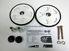 "Arctic Cat White Rear Idler Wheel Kit 8"" 12-18 137"" 141"" 153"" 162"" 6639-624"