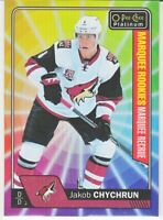 2016-17 OPC Platinum RAINBOW COLOR WHEEL MARQUEE ROOKIES RC Jakob Chychrun
