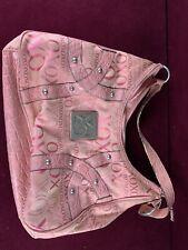 xoxo pink purse