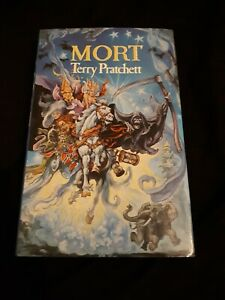 Terry Pratchett Mort Hardback - 2nd Impression Jan 1988