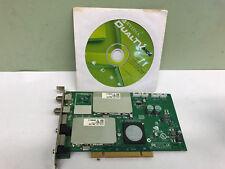 Nvidia DualTV MCE Remote TV Radio Tuner Video PCI Card with software