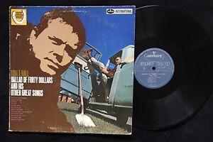 Tom T. Hall – Ballad Of Forty Dollars, 1969 NL LP NM, Mercury – 134575MFY