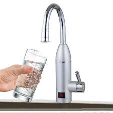 3KW Sofortig Elektrisch Wasserhahn Tankless Durchlauferhitzer für Küche Bad 220V
