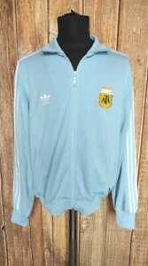 Argentina Adidas Football Jacket 2006 World Cup FIFA Soccer Tracksuit Sz L
