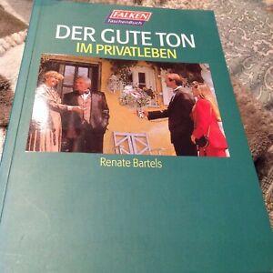 Buch Der gute Ton im Privatleben von Renate Bartels