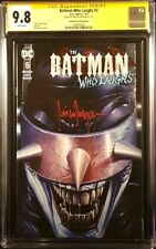 BATMAN WHO LAUGHS #5 CGC SS 9.8 MICO SUAYAN VARIANT JOKER HARLEY QUINN DC COMICS